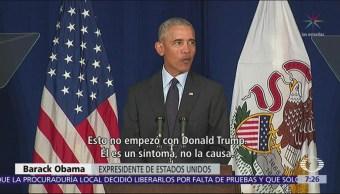 Obama lanza crítica contra Donald Trump y el Partido Republicano