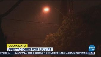 Ocho Municipios Afectados Lluvias Guanajuato Emergencia Climatológica