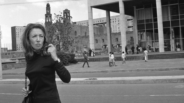 Oriana Fallaci, testigo y víctima de la masacre del 68