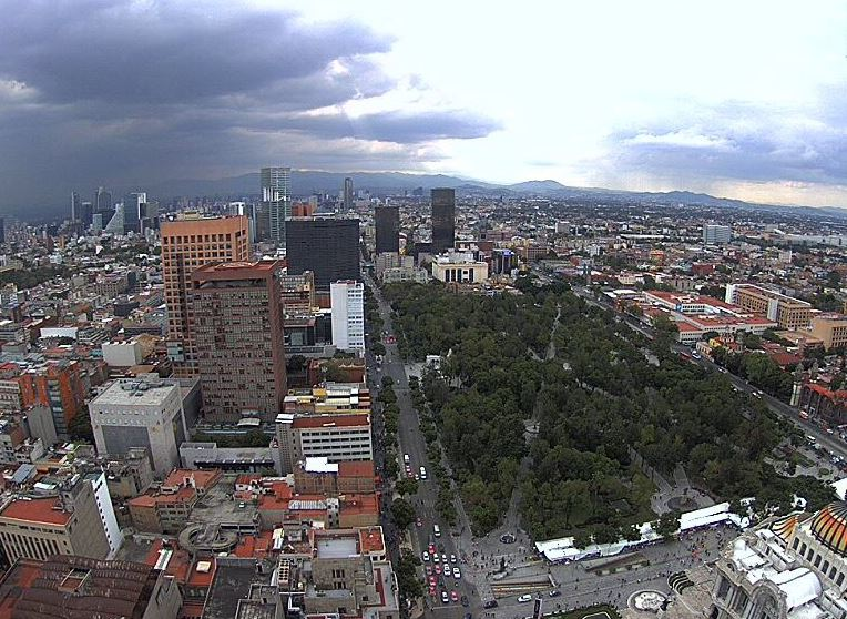 Lluvias y caída de granizo habrá hoy en la Ciudad de México