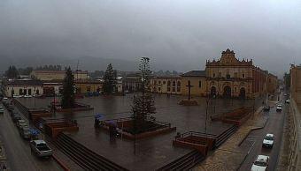 Lluvias dejan encharcamientos en Tuxtla Gutiérrez, Chiapas