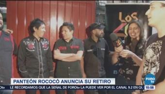 Panteón Rococó anuncia su retiro en redes sociales