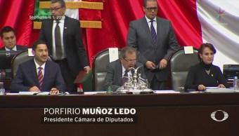 Partidos fijan postura en la primera sesión 64 Legislatura