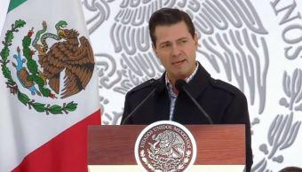 Peña Nieto destaca fortalecimiento de Fuerzas Armadas