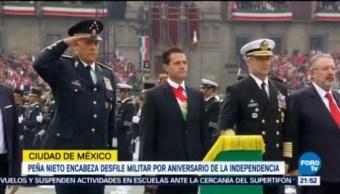 Peña Nieto Encabeza Desfile Militar EPN CDMX