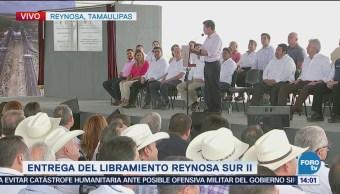Peña Nieto Entrega Libramiento Reynosa Sur II