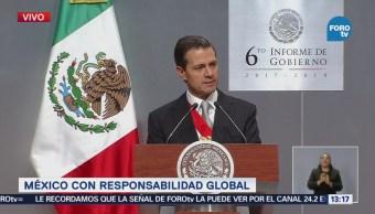 Peña Nieto: Hemos defendido los intereses de México con firmeza