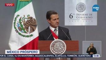 Peña Nieto: Privilegiamos la estabilidad económica