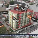 Petén 915, un colapso del que rescataron a 7 personas