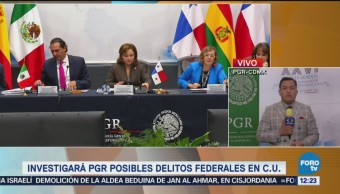 PGR investigará delitos en Ciudad Universitaria de la UNAM