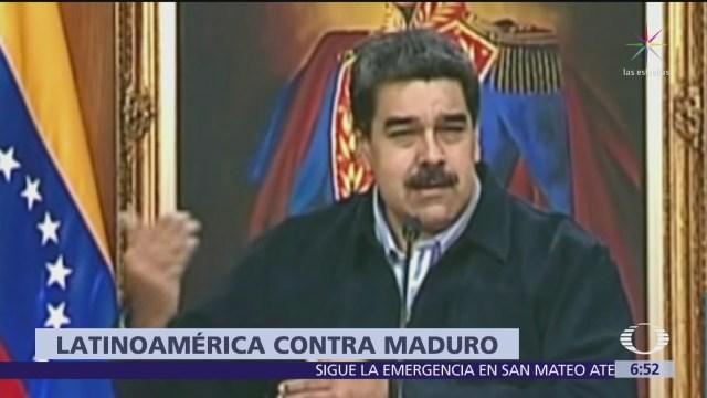 Piden a Nicolás Maduro aceptar ayuda humanitaria para Venezuela