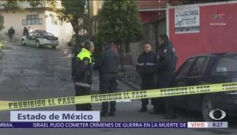 Presunto delincuente muere a manos de un pasajero Naucalpan