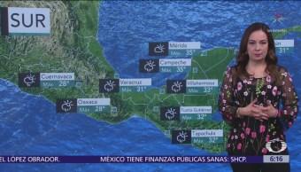 Pronostican lluvias para Baja California Sur, Sinaloa