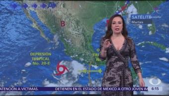 Pronostican tormentas en Nayarit, Guerrero y Oaxaca