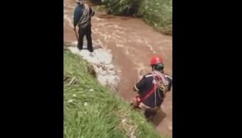 SSPCDMX rescata cuerpo mujer enterrada deslave Cuajimalpa
