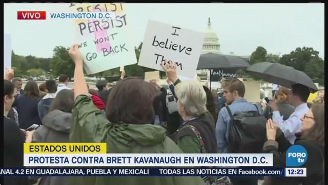 Protesta contra Brett Kavanaugh Washintong, Estados Unidos