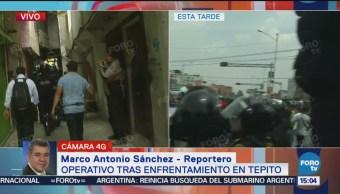 Protesta Desata Enfrentamiento Tepito