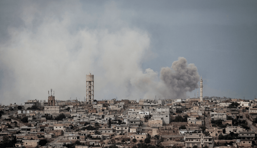 Conflicto en Siria: Aviones rusos bombardean provincia Idlib