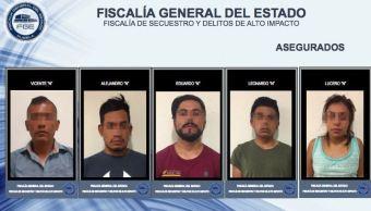 Fiscalía de Puebla desmantela banda de secuestradores