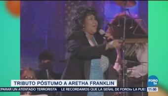 Realizarán tributo a la cantante Aretha Franklin en AMW