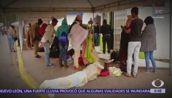 Refugiados venezolanos quedan varados en fronteras de Colombia y Ecuador