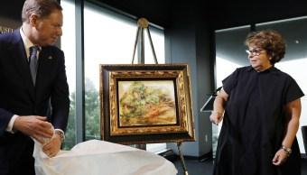 FBI recupera Renoir robado por nazis del Banco de París