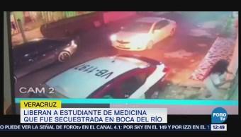 Rescatan a estudiante secuestrada en Boca del Río, Veracruz
