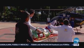 Retratos de México: El trabajo en una ambulancia aérea
