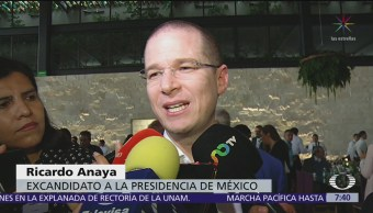Ricardo Anaya reaparece tras su derrota en la elección presidencial