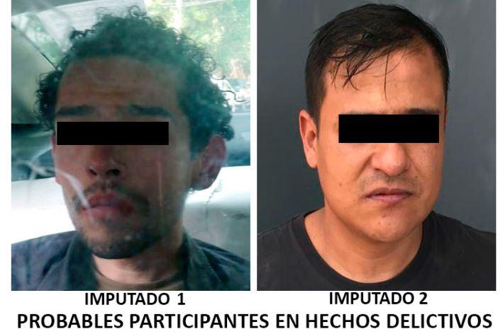Detienen a 2 presuntos ladrones en la CDMX