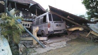 terremoto indonesia suman 48 muertos y 356 heridos