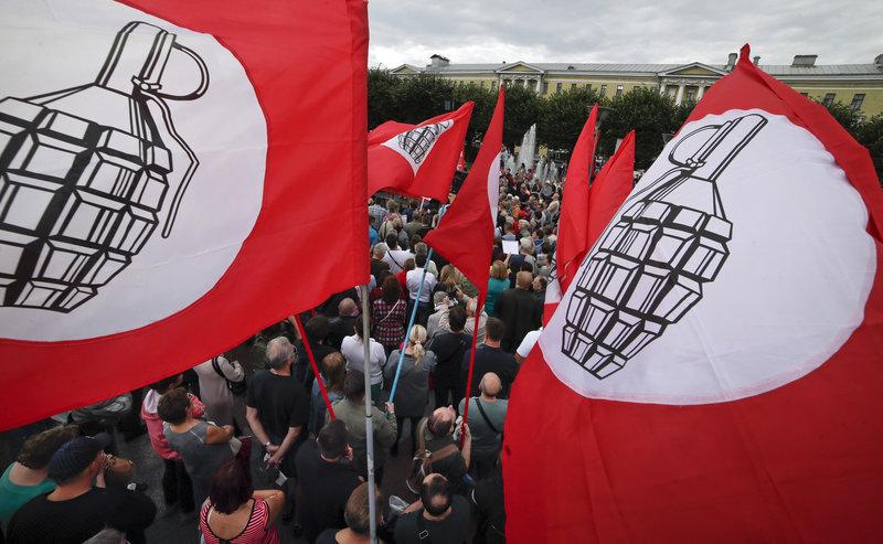 protestan Moscu reforma sistema pensiones rusia