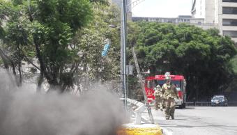 corto circuito conato incendio glorieta insurgentes