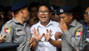 condena periodistas se basa en acusaciones falsas reuters