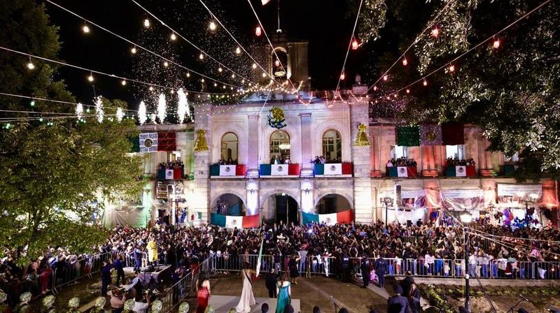 Así vivieron el grito de independencia en México