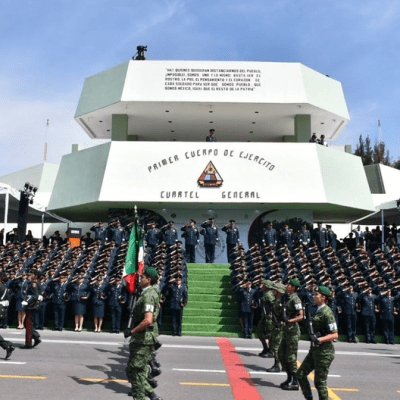 Militares de todo el país reciben ascensos y promociones