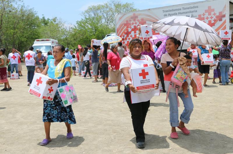 damnificados sinaloa limpieza rescate pertenencias cruz roja
