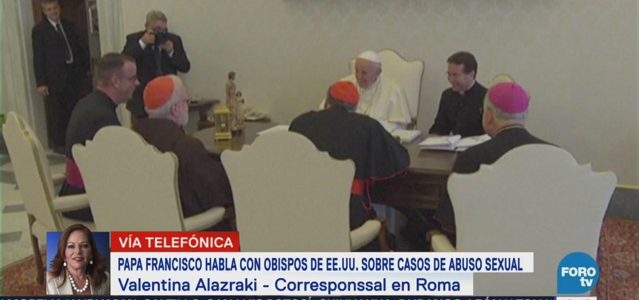 Papa Francisco Habla Obispos Eu Sobre Casos Abuso Sexual