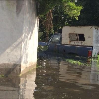 San Mateo Atenco, bajo el agua por fisura del río Lerma