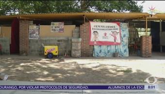 Save The Children avanza en reconstrucción de escuelas en Oaxaca
