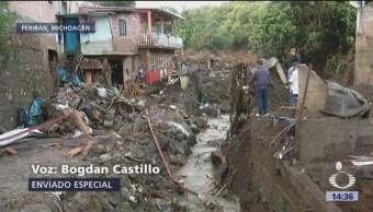 Se eleva a siete la cifra de muertos en Peribán, Michoacán