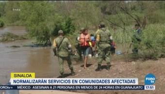 Normalizan Servicios De Agua Potable Sinaloa Afectaciones