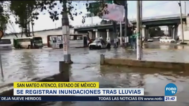 Registran Nuevas Inundaciones Edomex