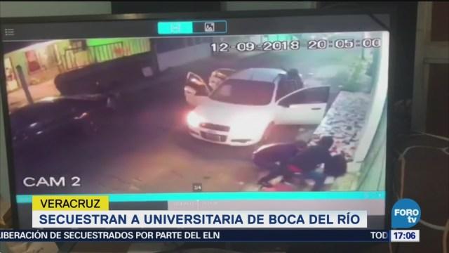 Secuestran Universitaria Boca Del Río Veracruz
