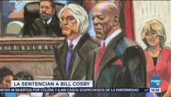 Sentencian a Bill Cosby a 10 años de prisión