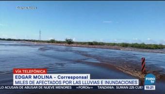 Contingencia Inundaciones Sonora Inundaciones Lluvias Clim
