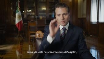 Sin duda, este ha sido el sexenio del empleo Peña Nieto