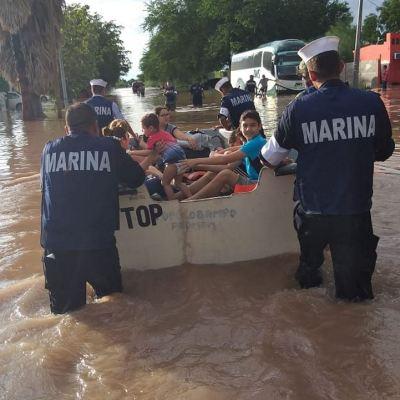 Instancias del Gobierno federal superan etapa de emergencia en Sinaloa y Sonora