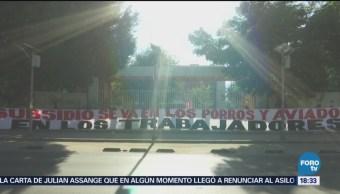 Sindicalizados Dejan Sin Clases Miles Universitarios Oaxaca