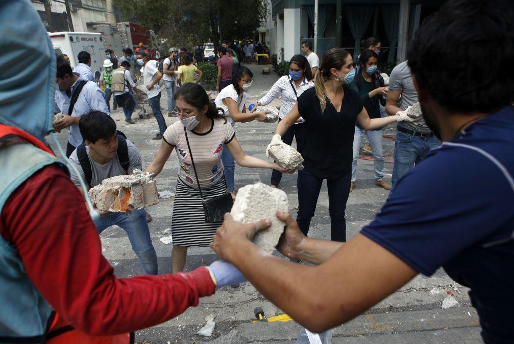 Así sorprendió la tierra a México con otro sismo